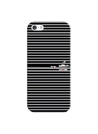 People's Cover iPhone 5/5S Kabartmalı Kapak Renkli